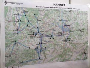 A1-461-4: Swiss Amateur Radio Teleprinter Group — ARTG; proiectul HamNet este un fel de RoLink pe vârfuri de munte și chiar le doresc lui YO2LOJ, YO3FHM, YO3GWM, YO4ISC, YO7GQZ, YO8RXT, YO9INA și tuturor celor care vor sprijini pe viitor acest minunat proiect românesc, să depășească obiectivele pe care și le-a propus HamNet.