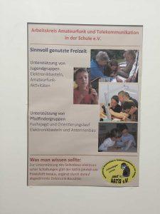 """A1-866: AATiS e.V. Amateurfunk und Schule — """"timp liber cheltuit cu folos"""""""