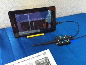 A1-530: WiMo Antennen und Elektronik GmbH — la WiMo se vindeau de toate, acest SDR mi-a atras atenția fiind o interfață pentru tablete Android-compatibile. Cam scump, însă (380 EUR)