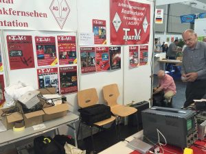 A1-246: AGAF Arbeitsgemeinschaft Amateurfunk Fernsehen — asociația radioamatorilor-TV