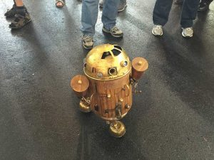 Maker Faire: Steampunk R2D2.